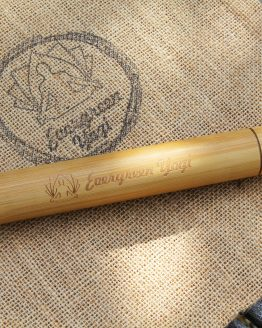 bamboo travel toothbrush case